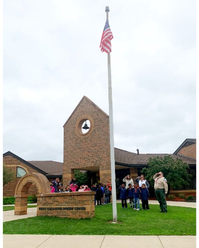 Perry Flag Ceremony